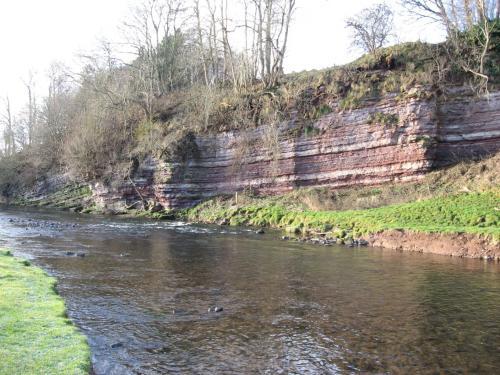 Cliffs by the River Kale, Haughhead
